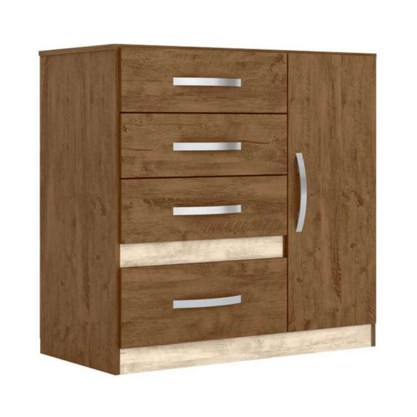 Cómoda Venus Moval castaño wood avellana wood 30253 - 1