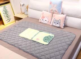 Almohada con manta conejo 100x155cm