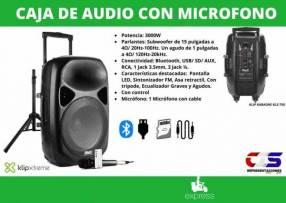 Caja de audio Klip Xtreme