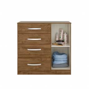 Cómoda Venus Moval castaño wood avellana wood 30253