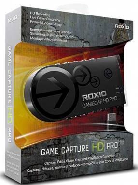 Capturadora de vídeo Roxio HD Pro