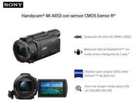 Filmadora Sony Pro FDR AX53 4K