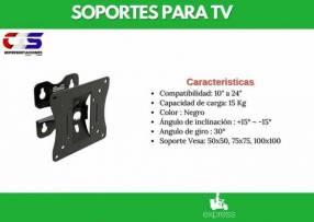 Soporte p/ tv Klip Xtreme 10