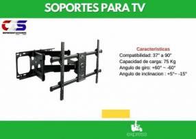 Soporte p/ TV Klip Xtreme 37