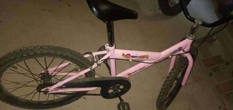 Bicicleta rosa - 0