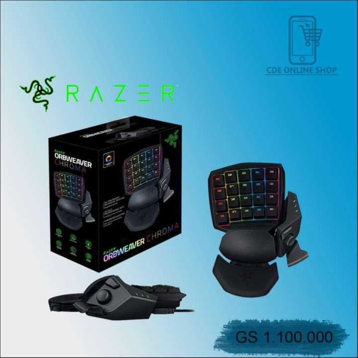 Teclado Razer Orbweaver Chroma rgb negro