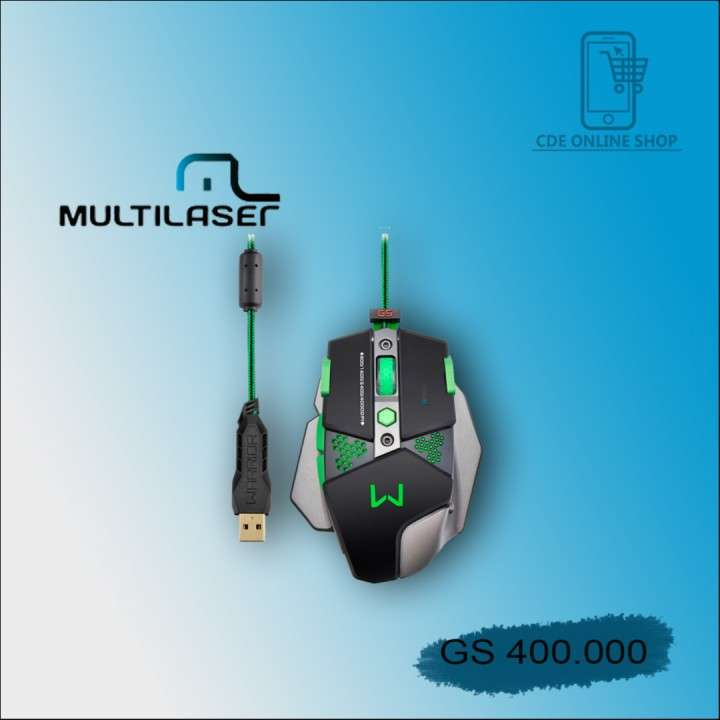 Mouse gamer multiláser MO-249 Warrior