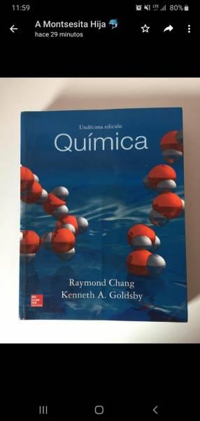 Libro Química de Chang 10ma edición