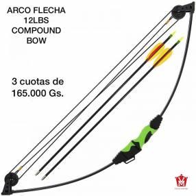 Arco flecha 12 lbs