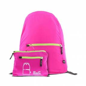 Mochila klip 5kg kfb-001pk litepack plegable rosado