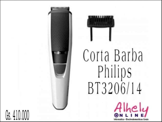 Corta Barba Philips BT 3206/14 cuchillas inoxidable 10 po - 0