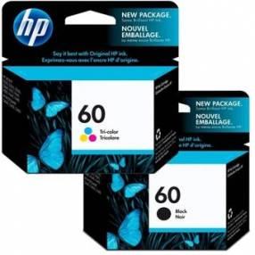 Tinta HP 60 negro y color