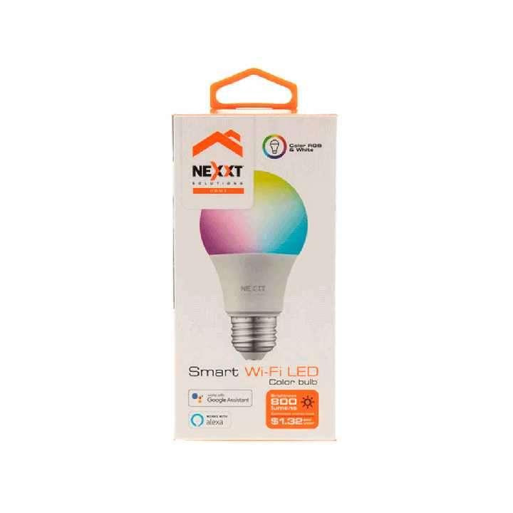 Foco led multicolor inteligente Nexxt IOT NHB-C120 220V 9W - 0