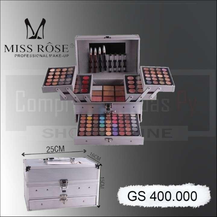 Maleta kit Make-Up Miss Rose M 7007-002N - 0