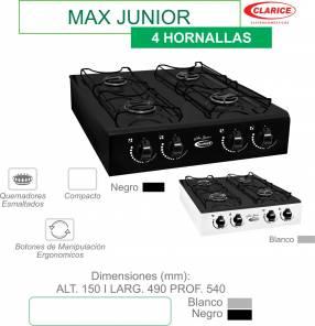 Cocina de mesa 4 hornallas Max Junio Clarice