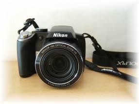 Cámara Nikon P80 semi profesional 18x filma HD