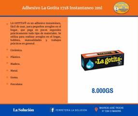 Adhesivo instantáneo La Gotita 3ml
