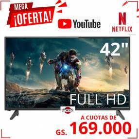 SMART TV TOKYO DE 42 PULGADAS FULL HD