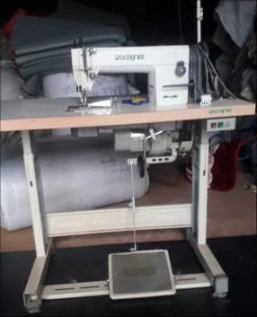 Máquina industrial doble arrastre