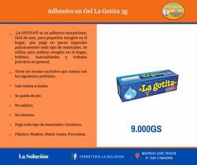 Adhesivo en gel La Gotita 3 gramos