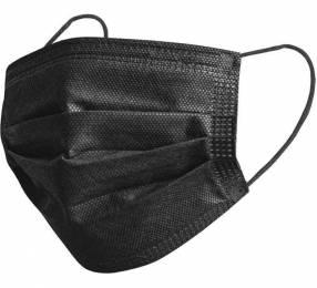 Tapaboca doble protección negro