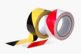 Cinta adhesiva PVC para señalización de pisos 25m, Paquete 3