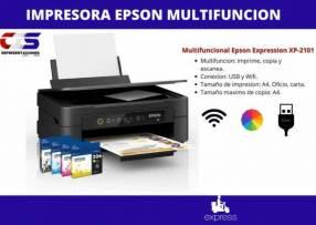 Impresora multifunción imprime color Epson 2101 con wifi