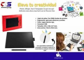 Tableta frafica WACOM ONE ideal para diseño e ilustracion
