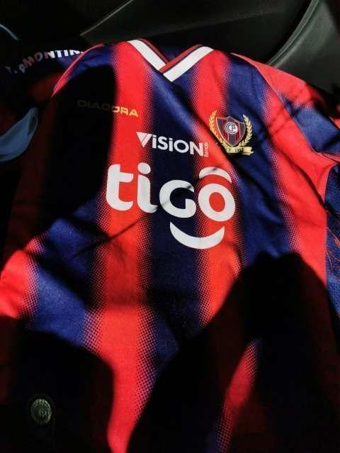 Remera de Cerro Porteño colección 2013 - 0