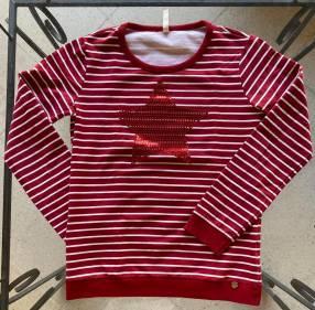 Suéter rojo Lunender