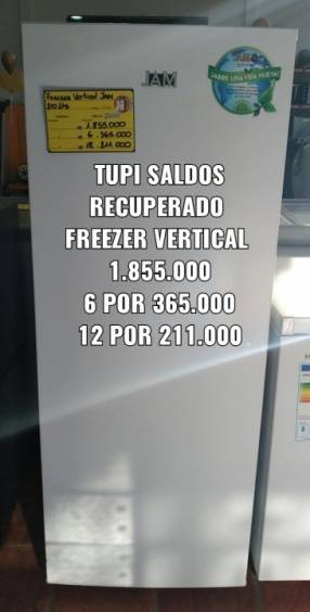 Freezer vertical jam