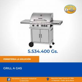 Grill a gas
