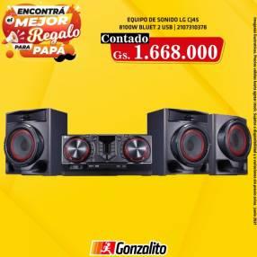 Equipo de sonido CJ45 8.100W