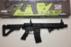 Rifle automático Co2 Crossman SBR con mira holográfica