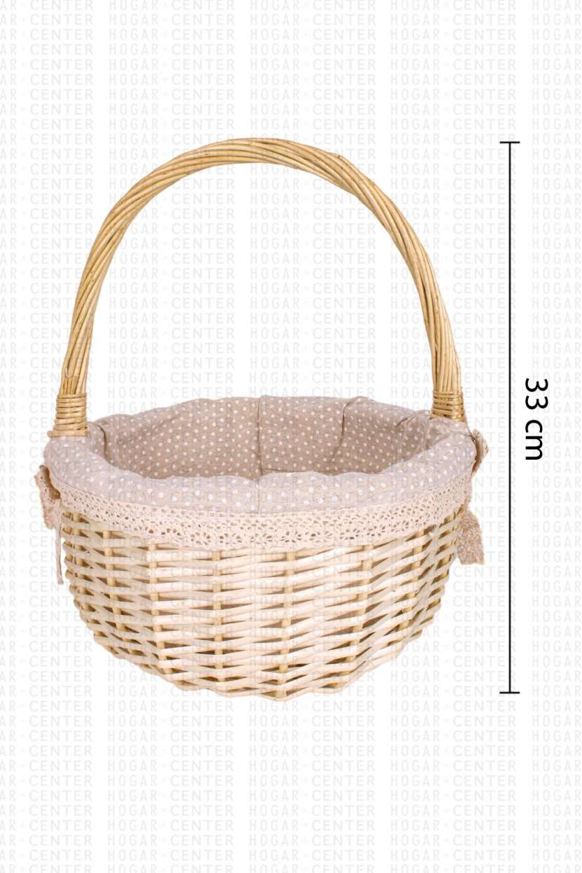 Canasta de bambú 24x33cm - 0