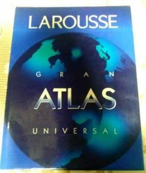 Libro Larousse Gran Atlas Universal Geografía