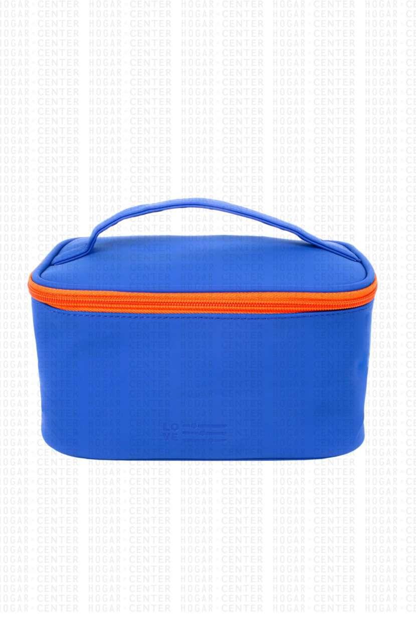 Neceser femenino azul 22x14x12cm - 1
