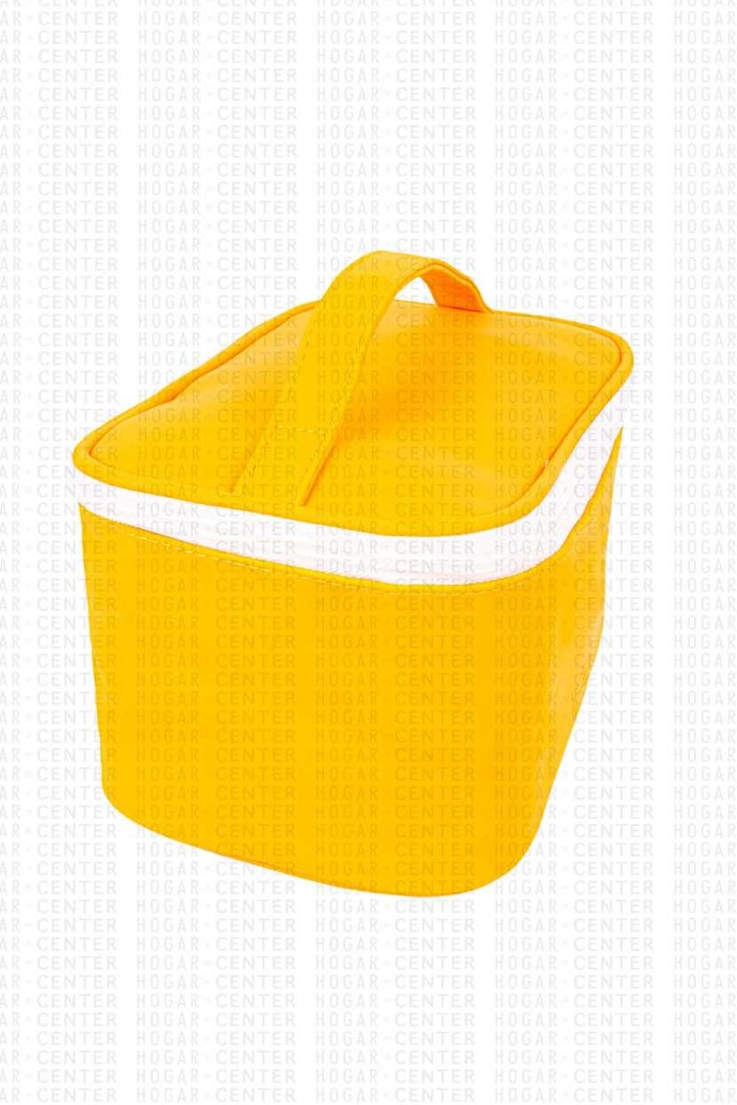 Neceser femenino amarillo 22x14x12cm - 0