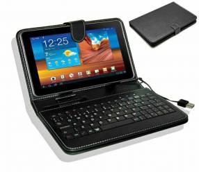 Estuche con teclado para tablet de 7 pulgadas