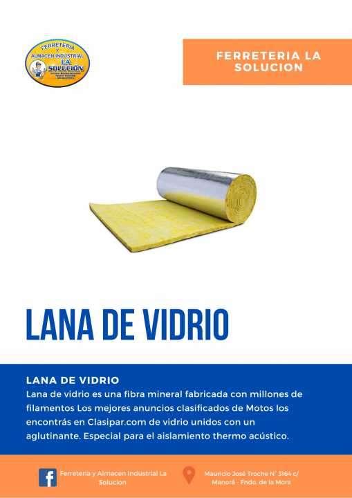 Lana de vidrio - 0