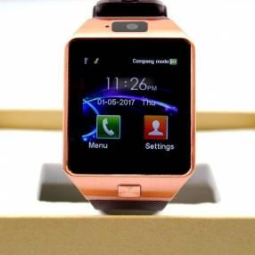 Smartwatch DZ09 dorado
