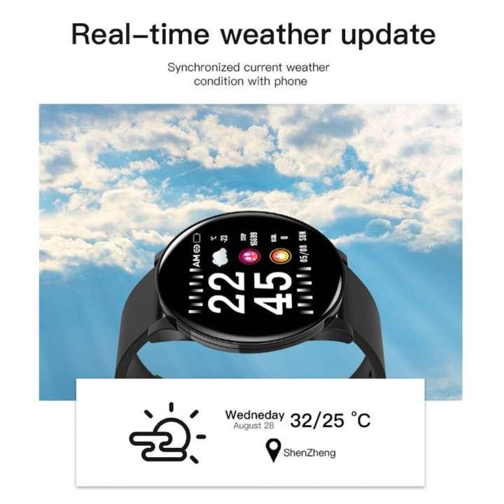 Smartwatch W8 negro - 2