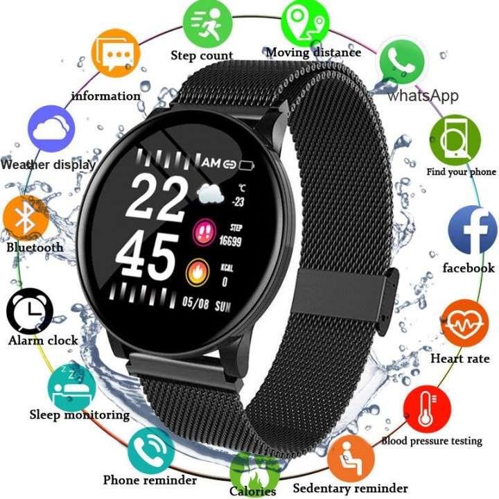 Smartwatch W8 negro