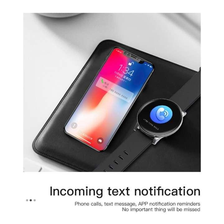 Smartwatch W8 negro - 4