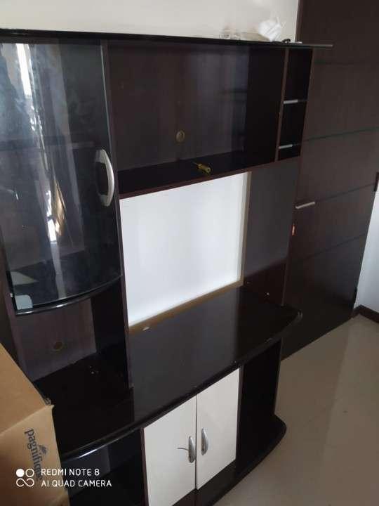 Mueble para sala para tv tipo rack estante - 3