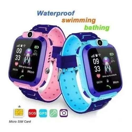 Reloj Inteligente para niños rosa - 1