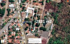 Terreno a 20 metros de Acceso Sur terreno de 2.821 m2