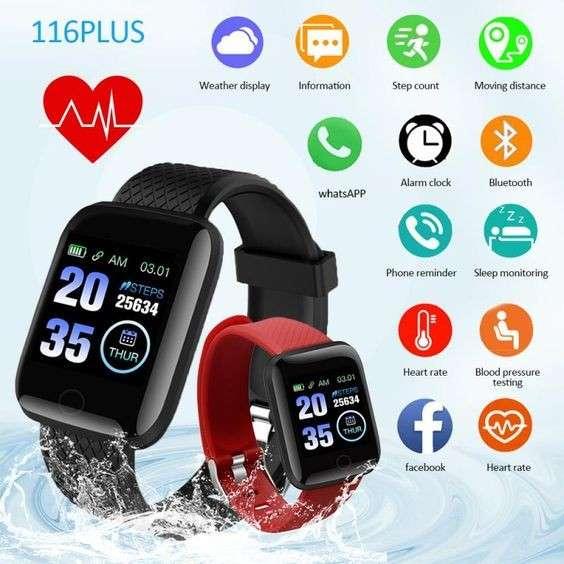 Smartwatch 116 Plus negro - 3