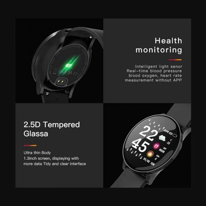 Smartwatch W8 negro - 3