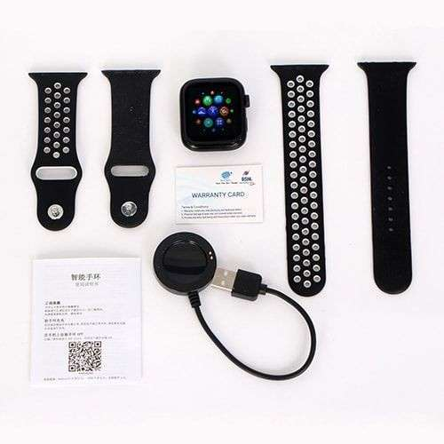 Smartwatch T55 negro - 1